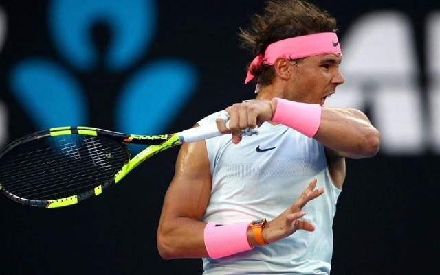 agresivo tenis