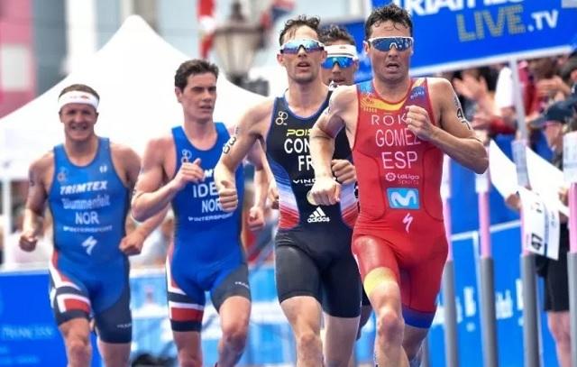 carrera distancia olímpica