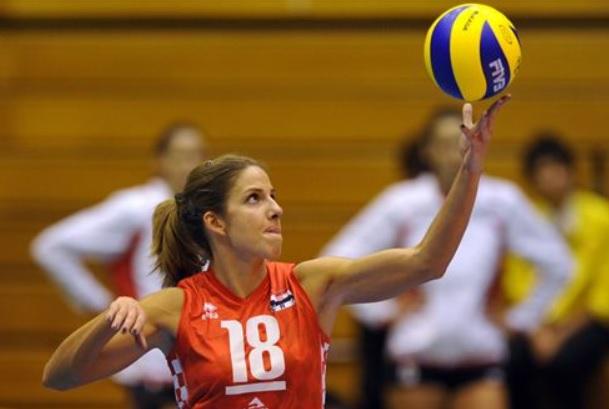 servicio voleibol